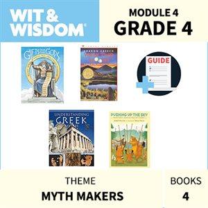 Wit & Wisdom Module 4 Books--Grade 4