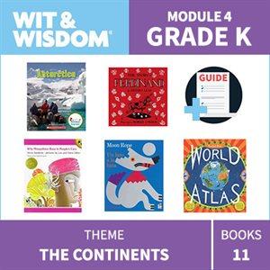 Wit & Wisdom Module 4 Books--Kindergarten