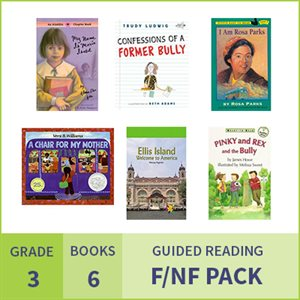 At Home Learning GR Fiction / Nonfiction Pack: Grade 3 (6 Books)