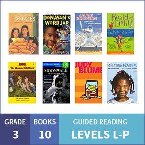 At Home Learning GR Multilevel Pack: Grade 3 (10 Books)