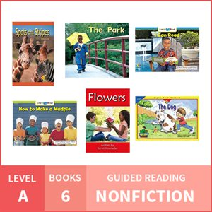At Home Learning GR Pack: Level A Nonfiction (6 Books)