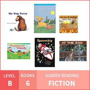 At Home Learning GR Pack: Level B Fiction (6 Books)