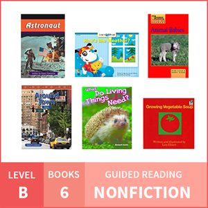 At Home Learning GR Pack: Level B Nonfiction (6 Books)