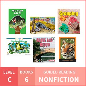 At Home Learning GR Pack: Level C Nonfiction (6 Books)