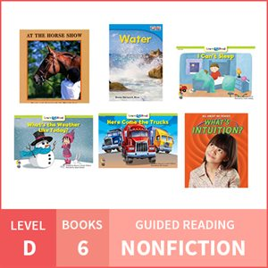 At Home Learning GR Pack: Level D Nonfiction (6 Books)