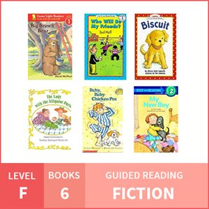 At Home Learning GR Pack: Level F Fiction (6 Books)