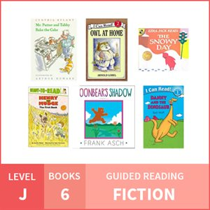 At Home Learning GR Pack: Level J Fiction (6 Books)