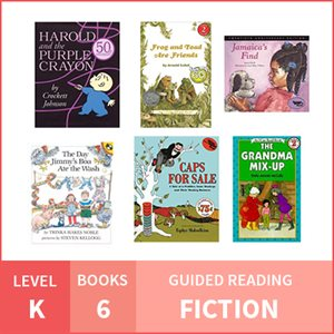 At Home Learning GR Pack: Level K Fiction (6 Books)