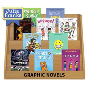 Julia Franks Middle School Picks - Graphic Novels