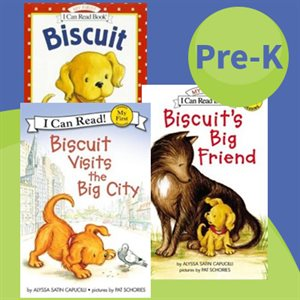 Picture Books: Biscuit (5 Books)