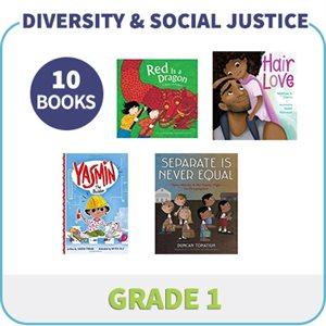 Grade 1 Diversity, Social Justice & Inclusion (10 Books)