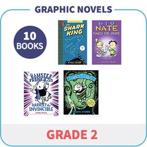 Grade 2 Graphic Novels (10 Books)