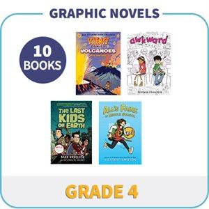 Grade 4 Graphic Novels (10 Books)