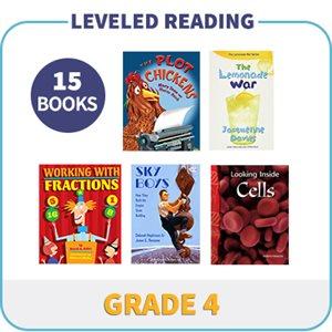 Grade 4 Leveled Readers - Targeted Levels  (15 Books)