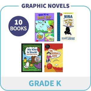 Kindergarten Graphic Novels (10 Books)