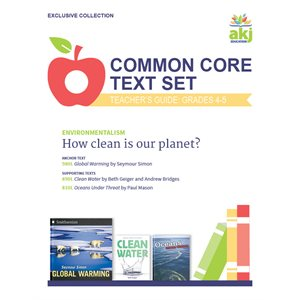 Common Core Text Set Teacher Guide: Environmentalism
