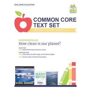 Common Core Text Set Teacher Guide: Environmentalism