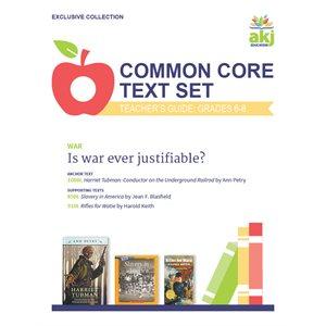 Common Core Text Set Teacher Guide: War