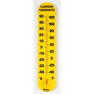 "15""H Classroom Thermometer"
