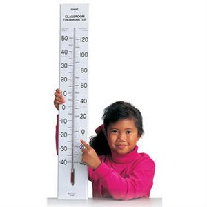 "30""H Giant Classroom Thermometer"
