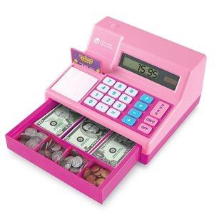Pretend & Play® Calculator Cash Register in Pink
