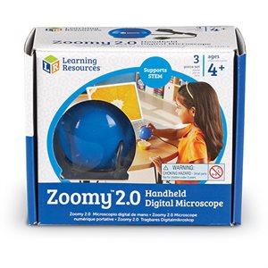 Zoomy™ 2.0 Blue Handheld Digital Microscope