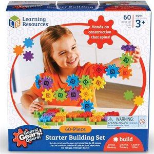 Gears! Gears! Gears!® 60-Piece Starter Building Set