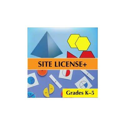 Media4Math Building Plus Bundle, 25 Teacher Licenses, 250 Student Licenses Elementary School