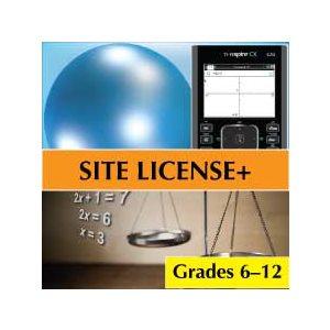 Media4Math Building Plus Bundle, 25 Teacher Licenses, 250 Student Licenses Middle & High School