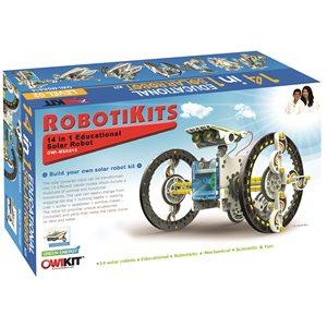 14 - in - 1 Solar Robot