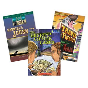AKJ Action Adventure and Mystery Assortment (10 Book Set)