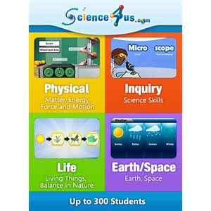 Science4Us Subscription - 300 Students