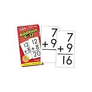 Addition 0-12 Skill Drill Flash Cards