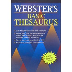 Webster's Basic Thesaurus